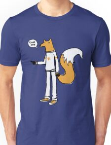 Choosy fox Unisex T-Shirt