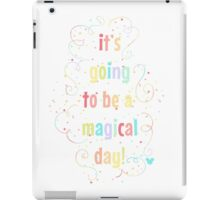 Magical Day iPad Case/Skin