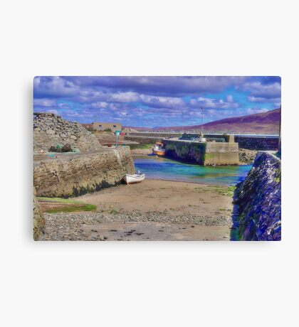 Empty Harbour Canvas Print