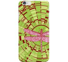 Dragon on glass acid iPhone Case/Skin