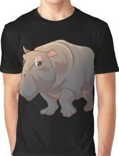 Cute cartoon hippo Graphic T-Shirt