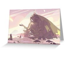 Crystal Temple - Steven Universe! Greeting Card
