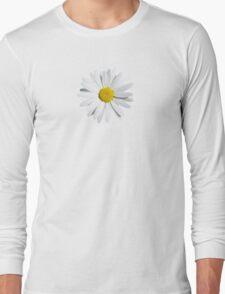 White flower Long Sleeve T-Shirt