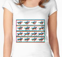 Horses by Billy Bernie Women's Fitted Scoop T-Shirt