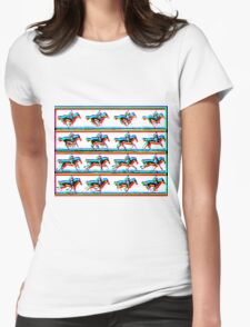 Horses by Billy Bernie Womens Fitted T-Shirt