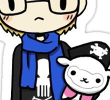 Kris + Alpaca Sticker