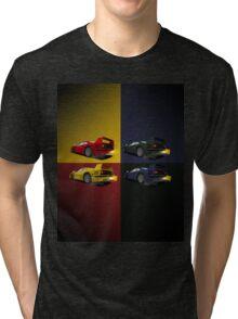 Pop art inspired Ferrari F40 Tri-blend T-Shirt