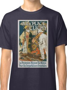 Vintage French Store Poster Classic T-Shirt
