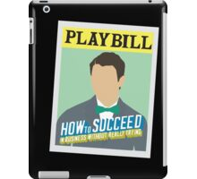 How to Succeed Playbill - NJ iPad Case/Skin