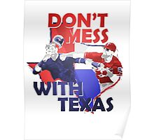 Texas Rangers Punch Poster