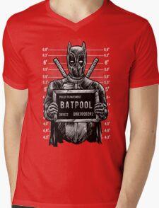 The Batpool Mens V-Neck T-Shirt
