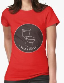 DATS A TOILET Womens Fitted T-Shirt