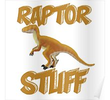 Raptor Stuff Poster