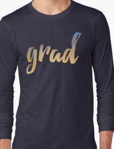 Grad   yellow brush type Long Sleeve T-Shirt