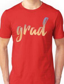 Grad   yellow brush type Unisex T-Shirt