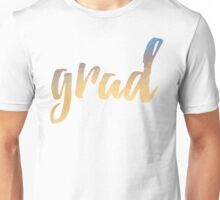 Grad | yellow brush type Unisex T-Shirt