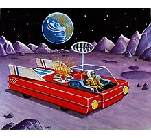 MOON ROVER Photographic Print