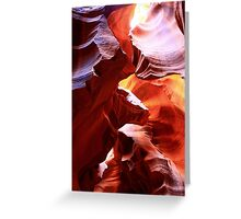 Slot Canyon, Arizona Greeting Card