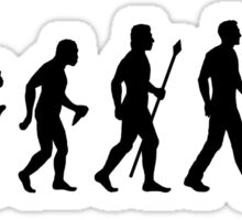 Funny Metal Detecting Evolution Sticker