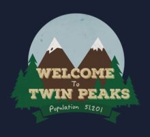 Welcome to Twin Peaks One Piece - Short Sleeve