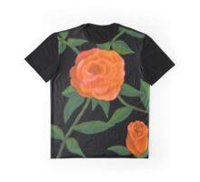 Peach roses Graphic T-Shirt
