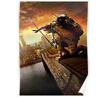 TMNT Donatello City Poster