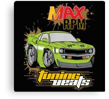 MAX RPM Canvas Print