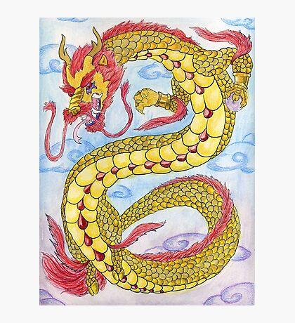 Golden Ruby Ryu Photographic Print