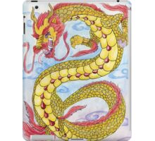Golden Ruby Ryu iPad Case/Skin