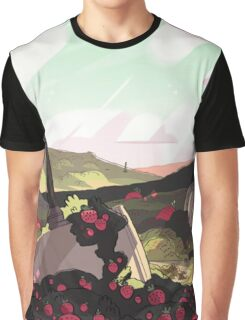 Strawberry Battlefield - Steven Universe! Graphic T-Shirt