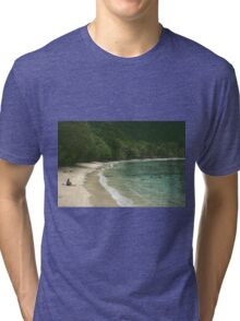 Dreaming Of Turquoise Waters Tri-blend T-Shirt