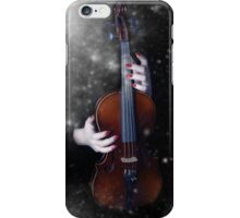 The winter's music iPhone Case/Skin