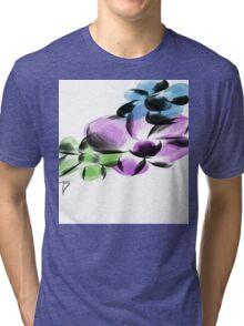 flower pops Tri-blend T-Shirt