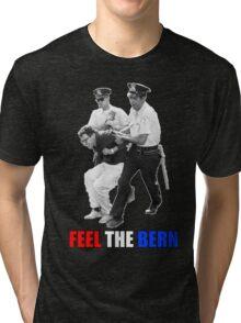 Feel the BERN Bernie Sanders Arrested Tri-blend T-Shirt