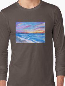 Flagler Beach Sunrise 2 Long Sleeve T-Shirt