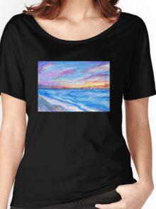 Flagler Beach Sunrise 2 Women's Relaxed Fit T-Shirt