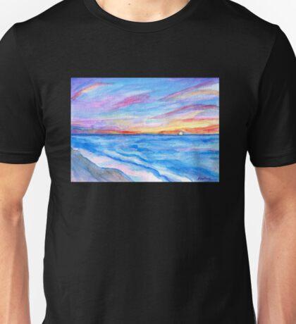 Flagler Beach Sunrise 2 Unisex T-Shirt