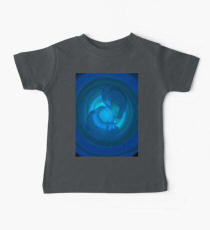 Shades of Blue. Baby Tee