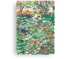 Fishpond Canvas Print