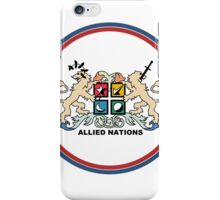 Allied Nations Small iPhone Case/Skin