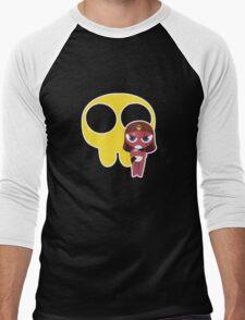 Chibi Style Giro! Men's Baseball ¾ T-Shirt