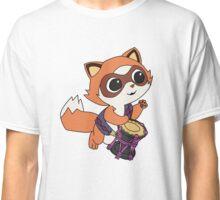 Baby Raccoon Drummer Classic T-Shirt