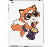Baby Raccoon Drummer iPad Case/Skin