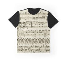 SHEET MUSIC-2 Graphic T-Shirt