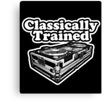 Classically Trained. Canvas Print