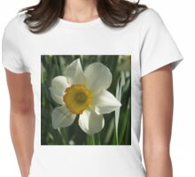 Poet's Daffodil Square Womens Fitted T-Shirt