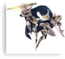 Fire Emblem Fates - Male & Female Corrin / Kamui Canvas Print