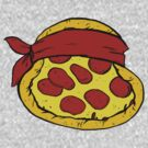 TMNT Pizza - Raphael by Daebak