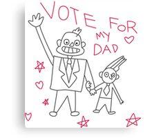 Mayor Dad - Steven Universe Canvas Print