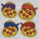 TMNT Pizza  by Daebak
